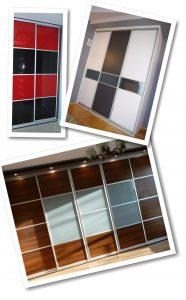 Szafy wnękowe drzwi - przykłady