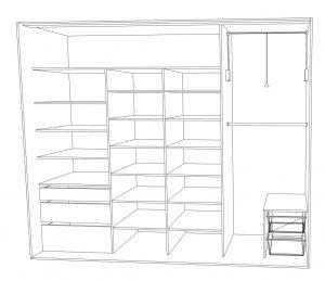 wnętrze szafy wymiary