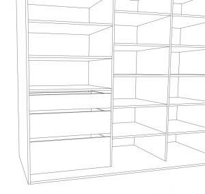 jak zaprojektowac szafę