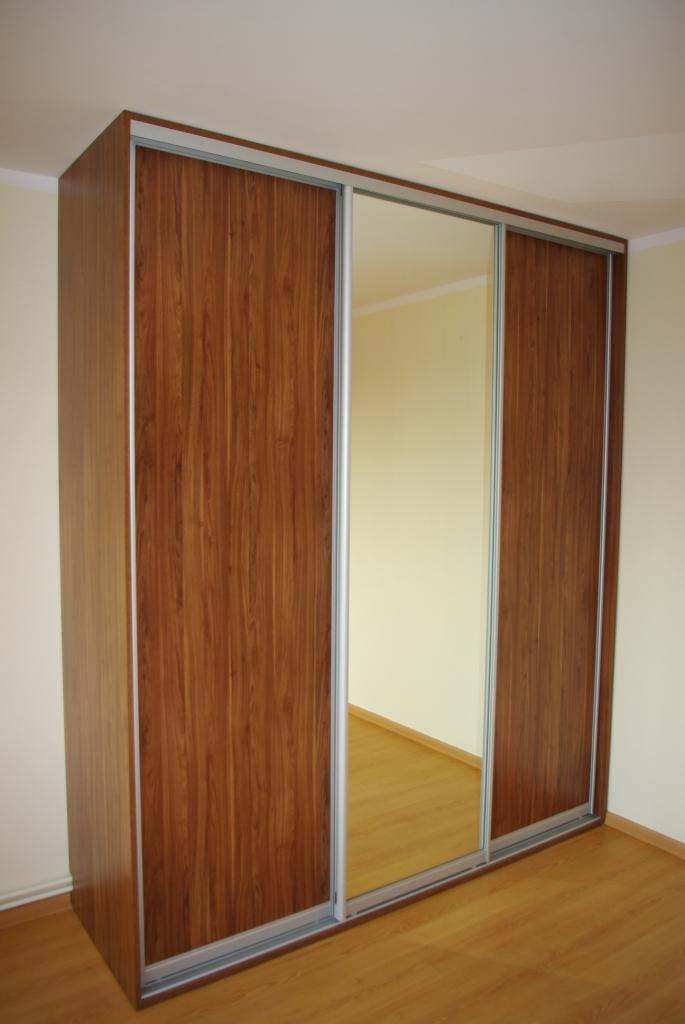 szafy przesuwne kraków z lustrem