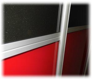 Obramowanie aluminiowe Indeco szpros łączeniowy