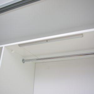 Oświetlenie IKEA w szafie wnękowej