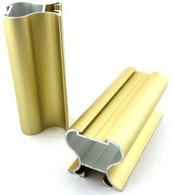 Profil aluminiowy firmy Bonari Berlin 2, kolor złoty